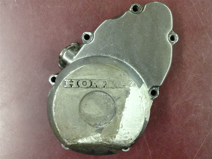 RARE Left Side Timing Engine Case Cover 1990 CBR 400RR Baby Blade